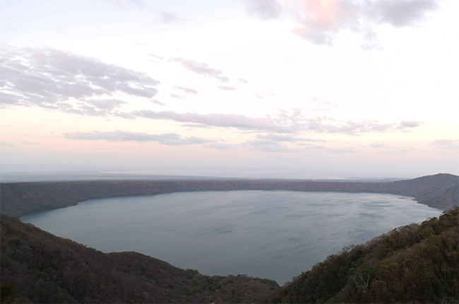 Laguna de Apoyo, mirador de Catarina (Nicaragua)