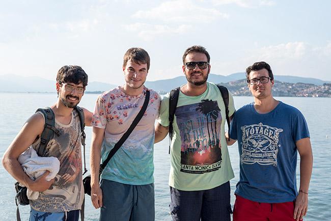 En el lago Ohrid