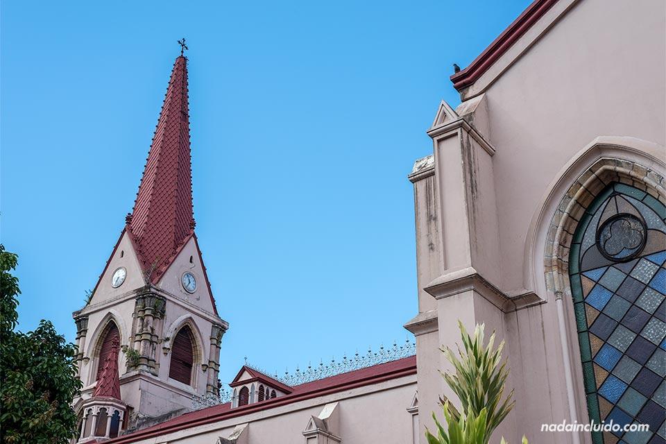 Torre de la Iglesia de la Merced, en San José (Costa Rica)