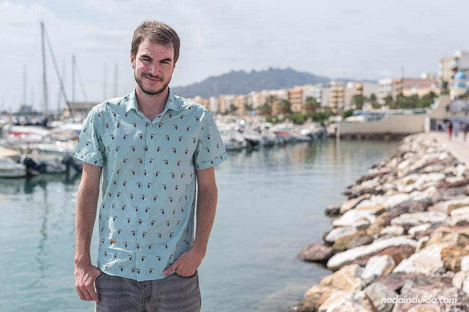 En el puerto de Garrucha (Almería)
