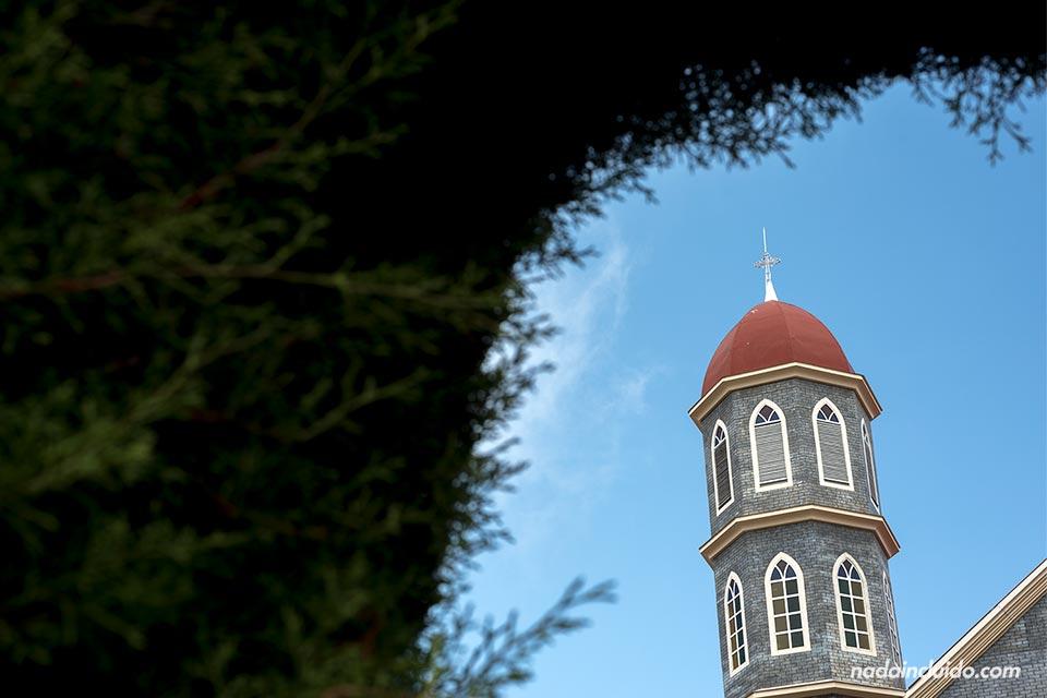 Torre de la iglesia de San Rafael en Zarcero (Costa Rica)