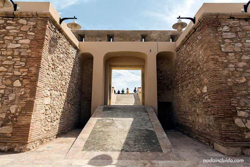 Castillo de San Ramón, en Garrucha (Almería)