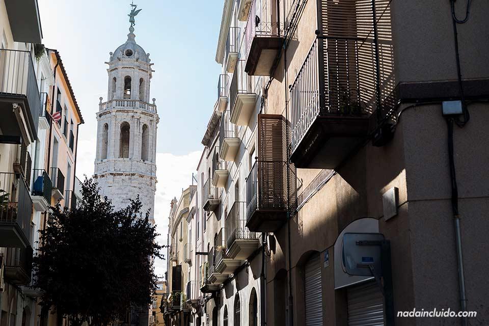 Torre de la parroquia de San Antonio en Vilanova i la Geltrú