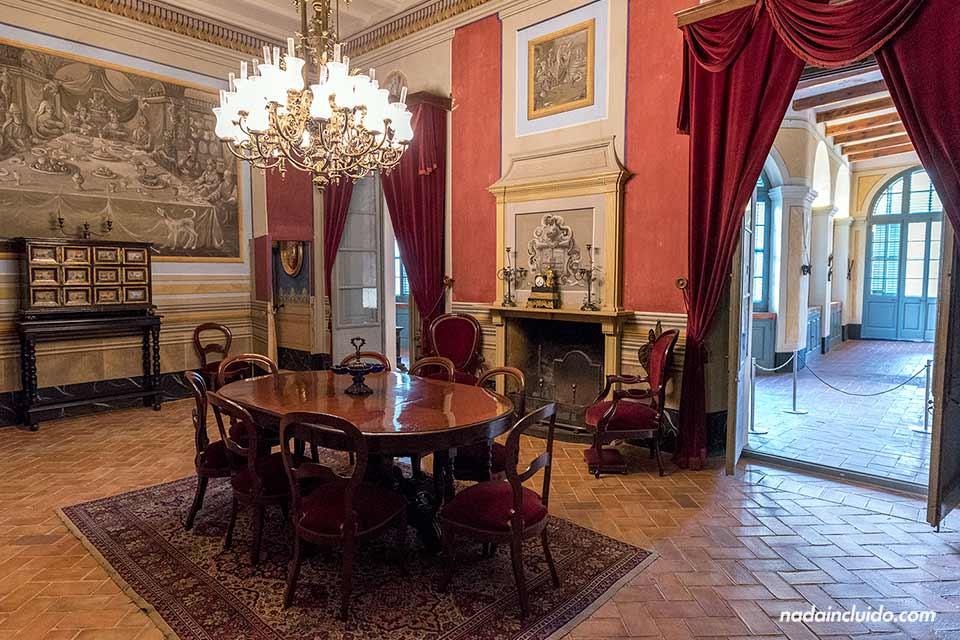 Salón del museo Can Papiol de Vilanova i la Geltrú