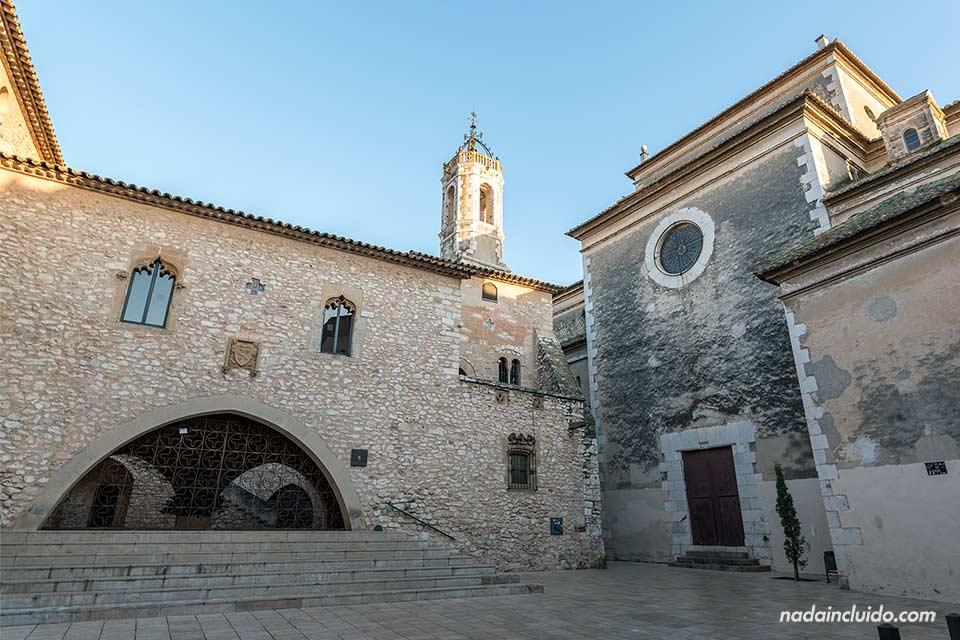 Fachada del castillo de Vilanova i la Geltrú