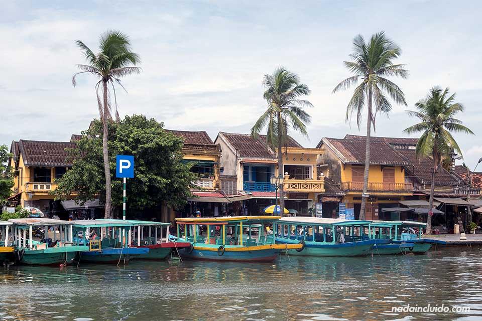 Muelle de Hoi An (Vietnam)