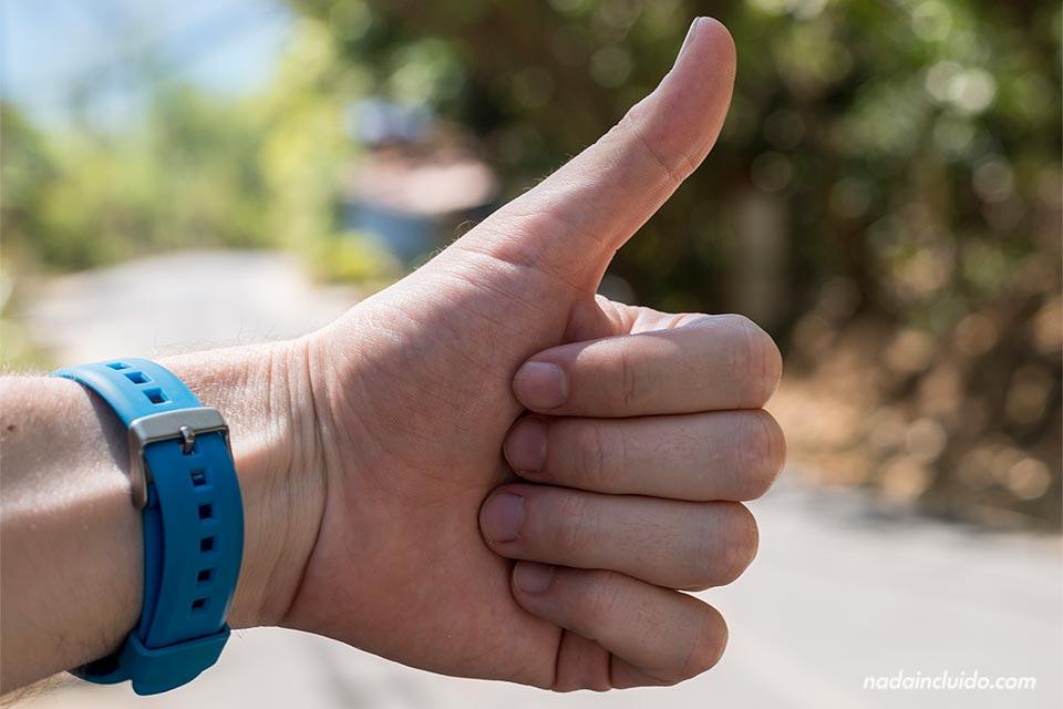 Haciendo dedo en Montezuma (Costa Rica)