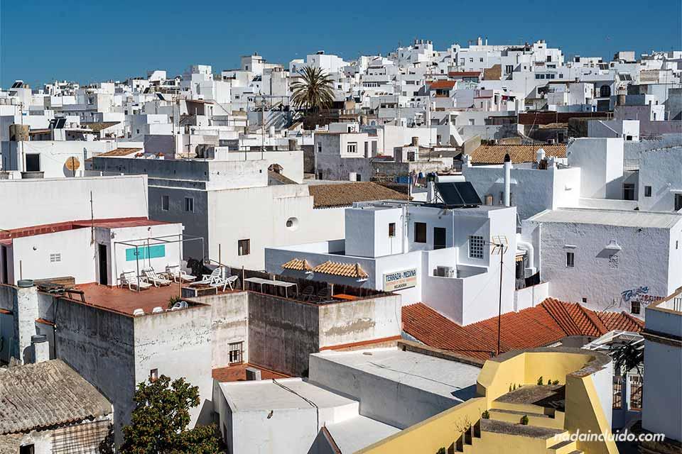Conil de la Frontera desde la Torre Guzman (Cádiz)