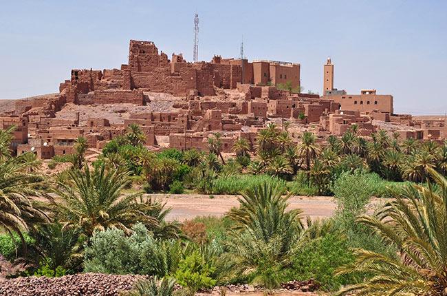 Ouarzazate, Kasbah Tifoultoute (Marruecos)