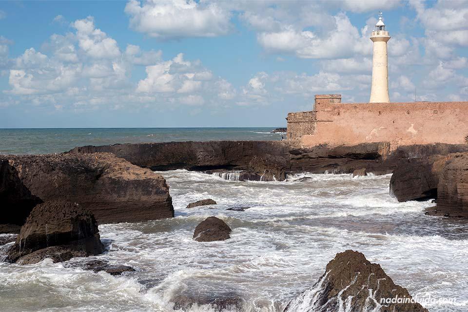 Faro de Rabat (Marruecos)