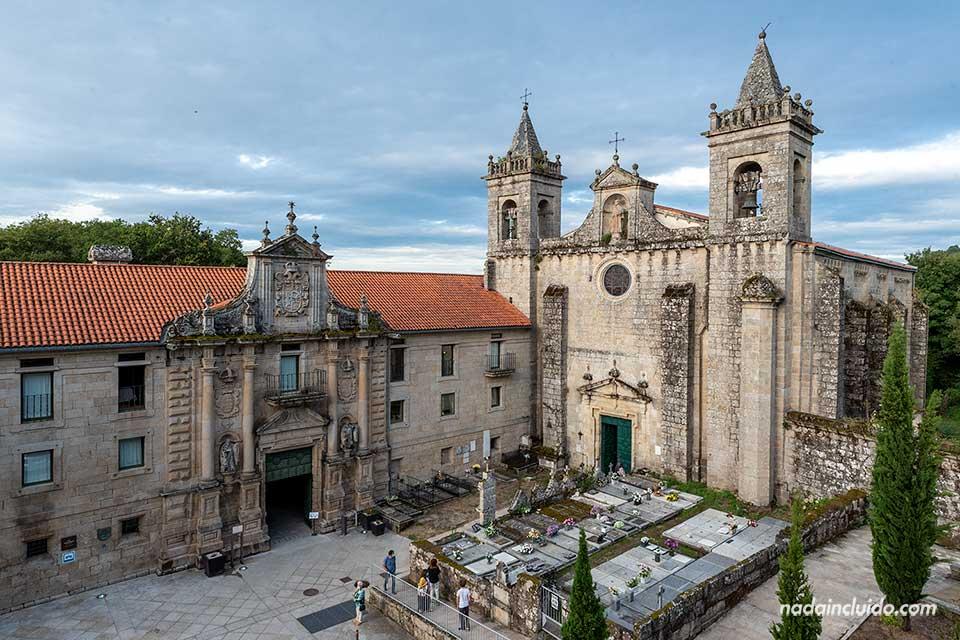 Fachada del parador - monasterio de Santo Estevo, Ribeira Sacra (Galicia)