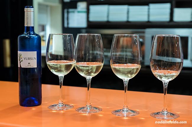 Maridaje de vino y tapas en Santo Domingo de la Calzada (Rioja, España)