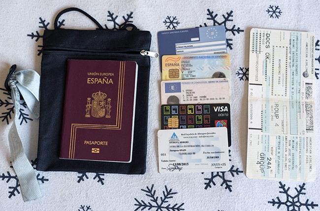 Documentos necesarios para tus viajes de mochilero