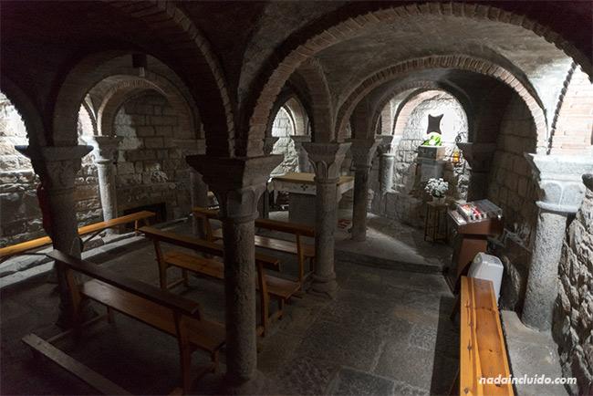 Capilla de la Iglesia de Santa María, en Aínsa (Sobrarbe, Aragón)