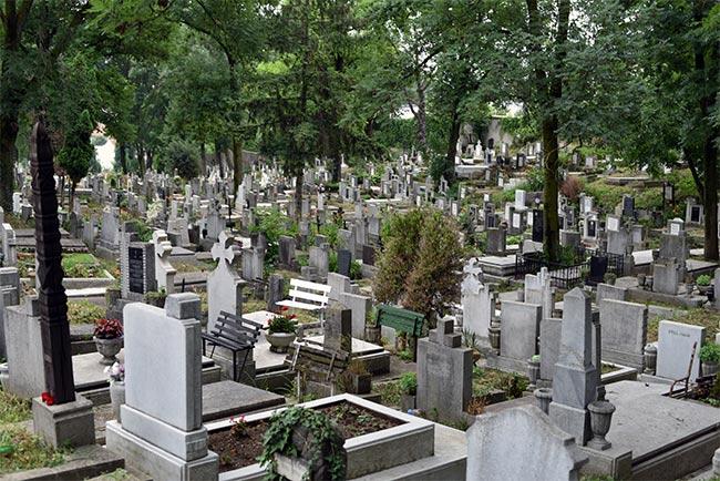 Cementerio central de Cluj-Napoca (Rumanía)