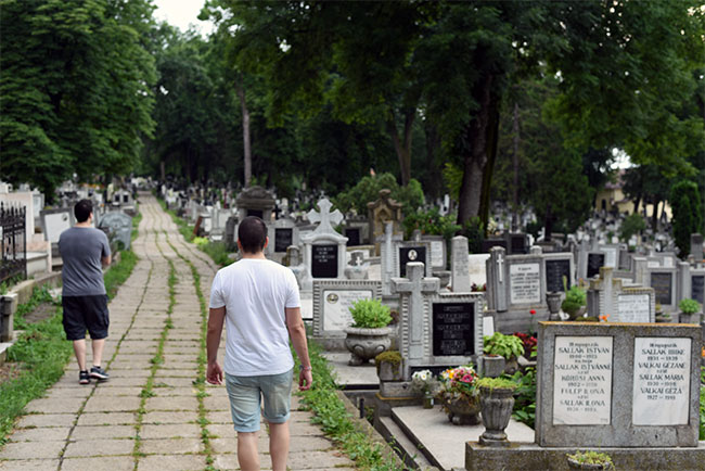 Paseando por el cementerio central de Cluj-Napoca (Rumanía)