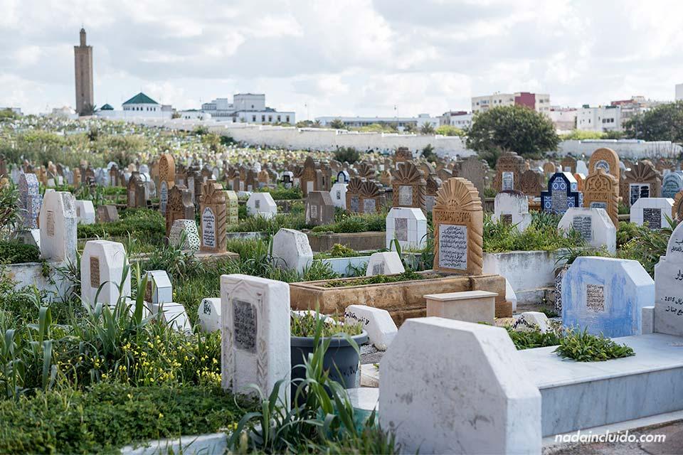 Cementerio de Rabat (Marruecos)