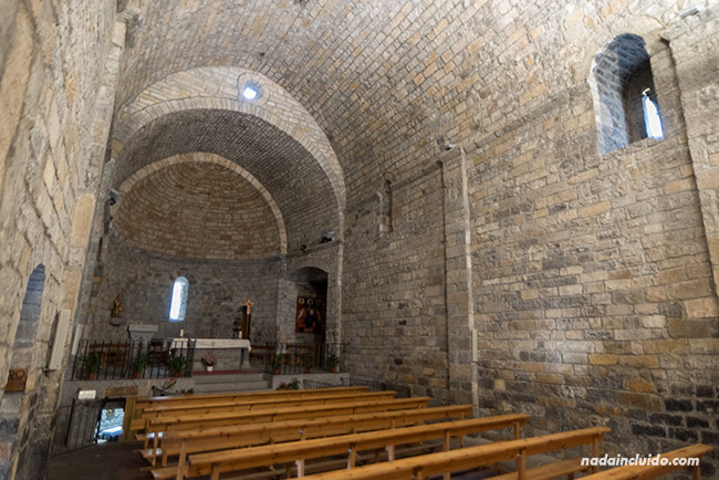 Iglesia de Santa María, en Aínsa (Sobrarbe, Aragón)