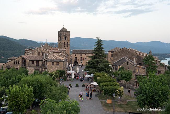 Vista desde el castillo de Aínsa (Sobrarbe, Aragón)