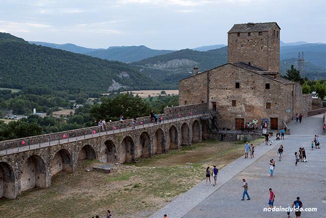 Castillo de Aínsa (Sobrarbe, Aragón)