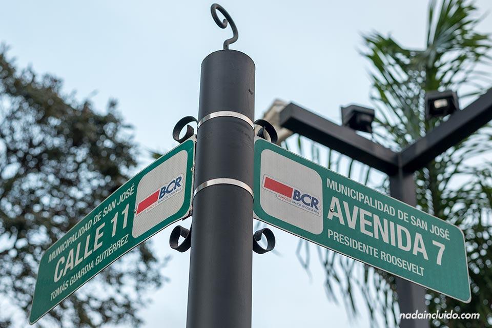 El nombre de las calles en San José (Costa Rica)