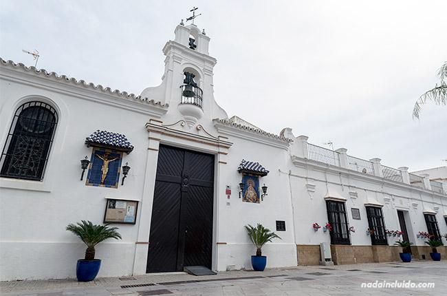 Plaza Juan Carlos I en Chipiona (Cádiz)