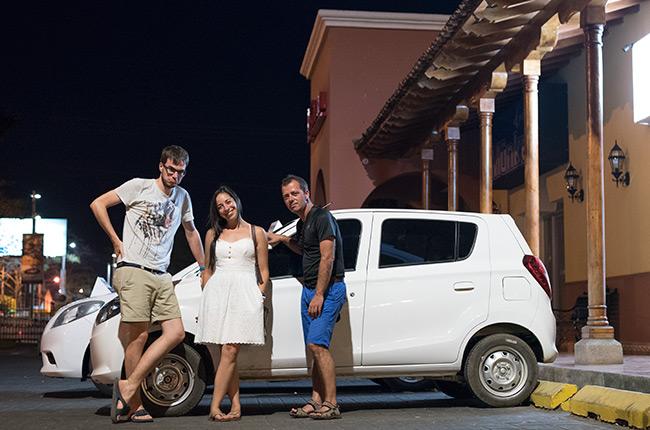 Alquiler de coches en Nicaragua