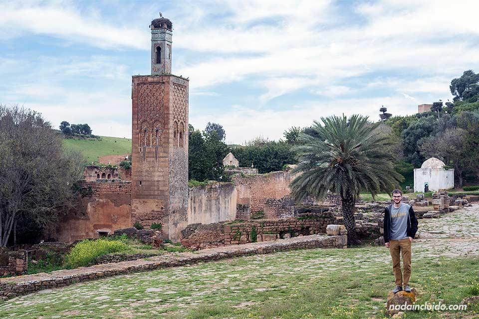 En la necrópolis de Chellah, Rabat (Marruecos)