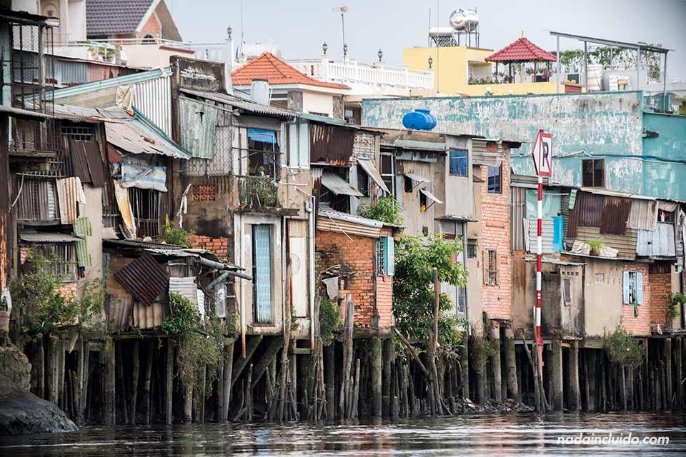 El distrito 8 es uno de los barrios más pobres de Ho Chi Minh (Vietnam)