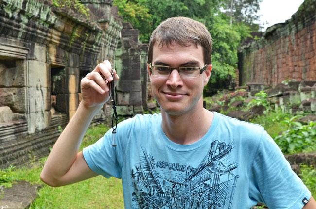 Live the life en el Temple Preah Khan, Angkor (Siem Reap, Camboya)
