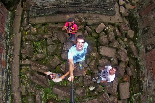 En el Wat Preah Khan de Angkor (Siem Reap, Camboya)