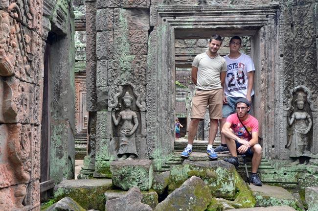 Ventana del Temple Preah Khan, Angkor (Siem Reap, Camboya)