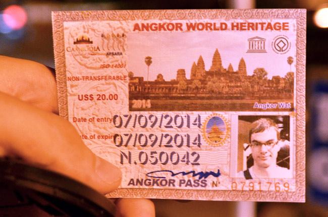Ticket de un día para Angkor (Siem Reap, Camboya)