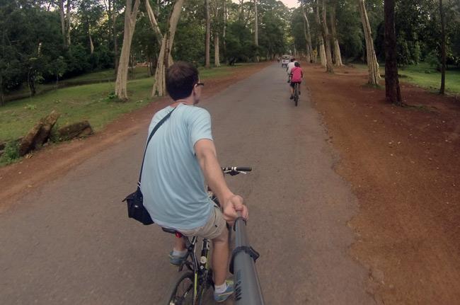Recorriendo Angkor en bicicleta (Siem Reap, Camboya)