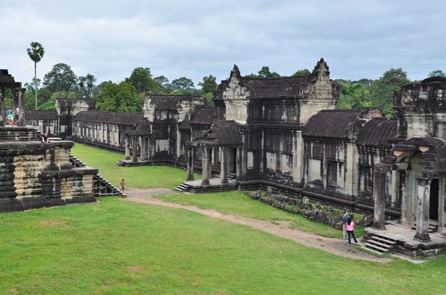 Jardines del Angkor Wat (Siem Reap, Camboya)