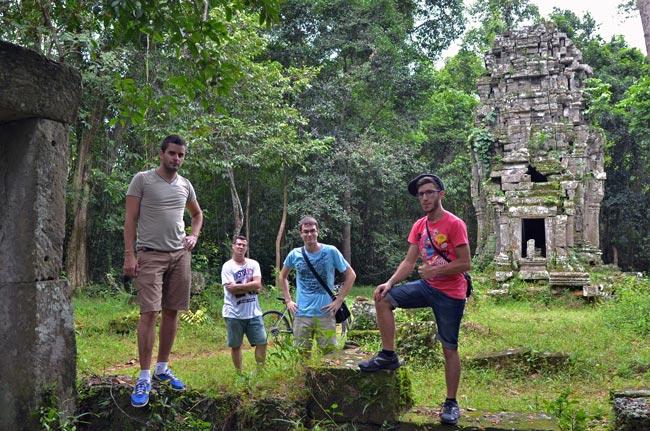 En un templo perdido en medio de Angkor (Siem Reap, Camboya)