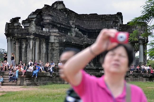 El Angkor Wat estaba repleto de turistas en nuestro paso por ahí (Siem Reap, Camboya)