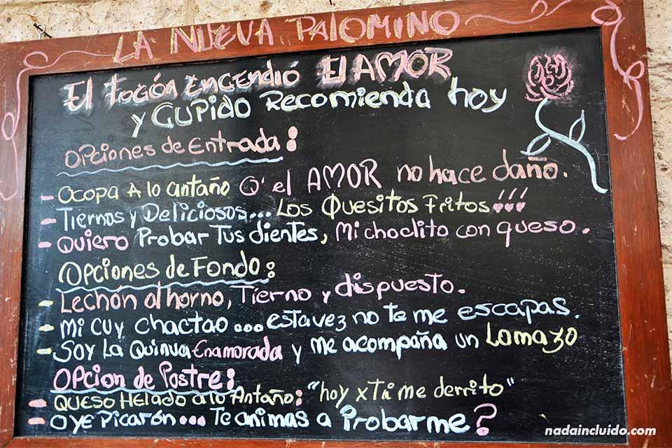 Arequipa,-restaurante-La-Nueva-Palomino,-menú