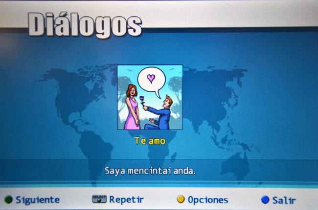 Juego para aprender idiomas en Turkish Airlines