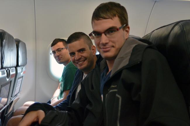 En un avión de Air Asia en el trayecto Phnom Phen (Camboya) - Kuala Lumpur (Malasia)