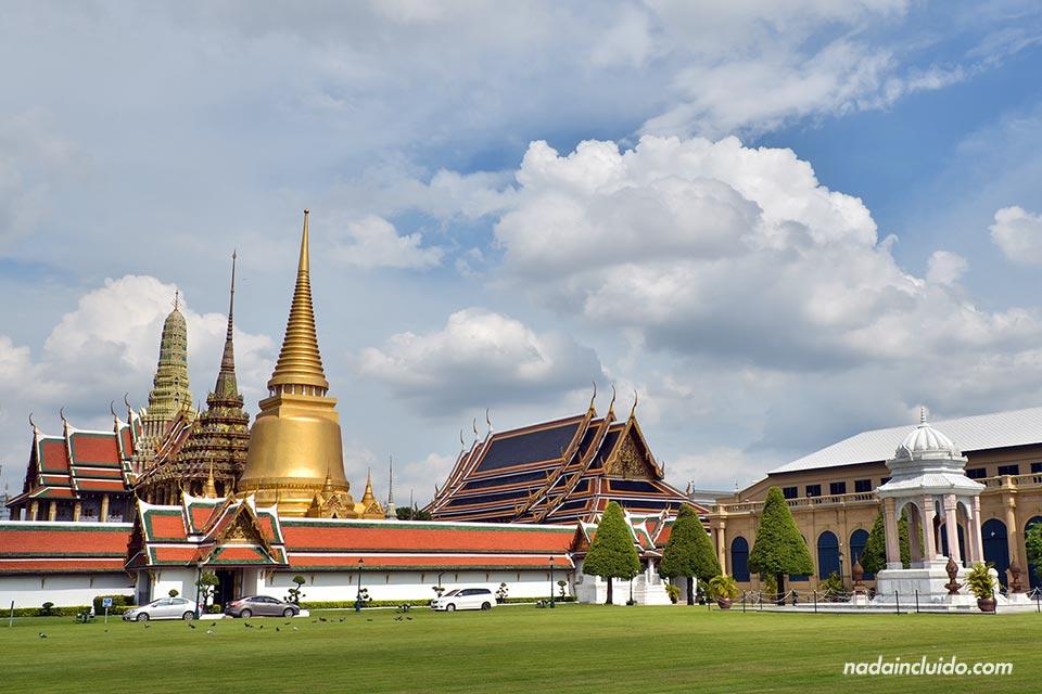 Entrada al Grand Palace de Bangkok (Tailandia)