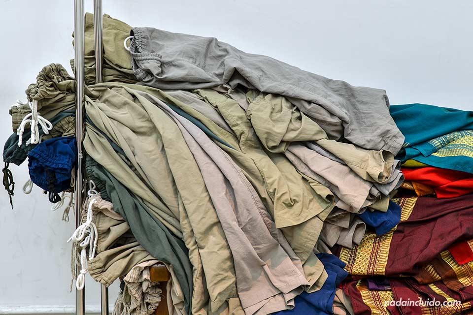 Alquiler de pantalones en el Grand Palace de Bangkok