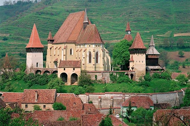 Iglesia fortificada de Biertan - Foto de Wikipedia