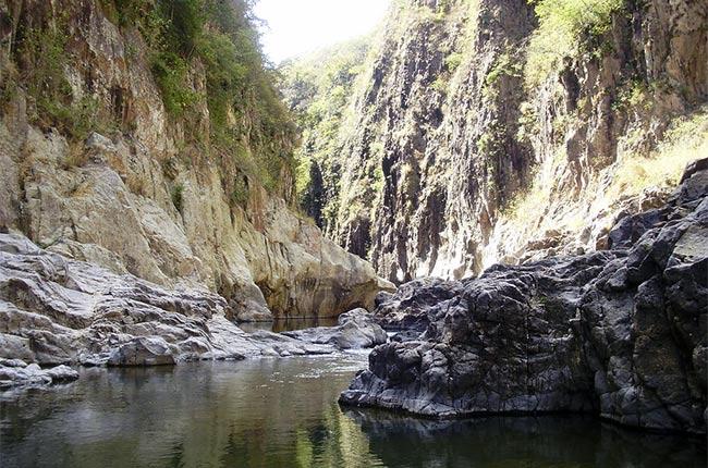 Cañón de Somoto en Nicaragua