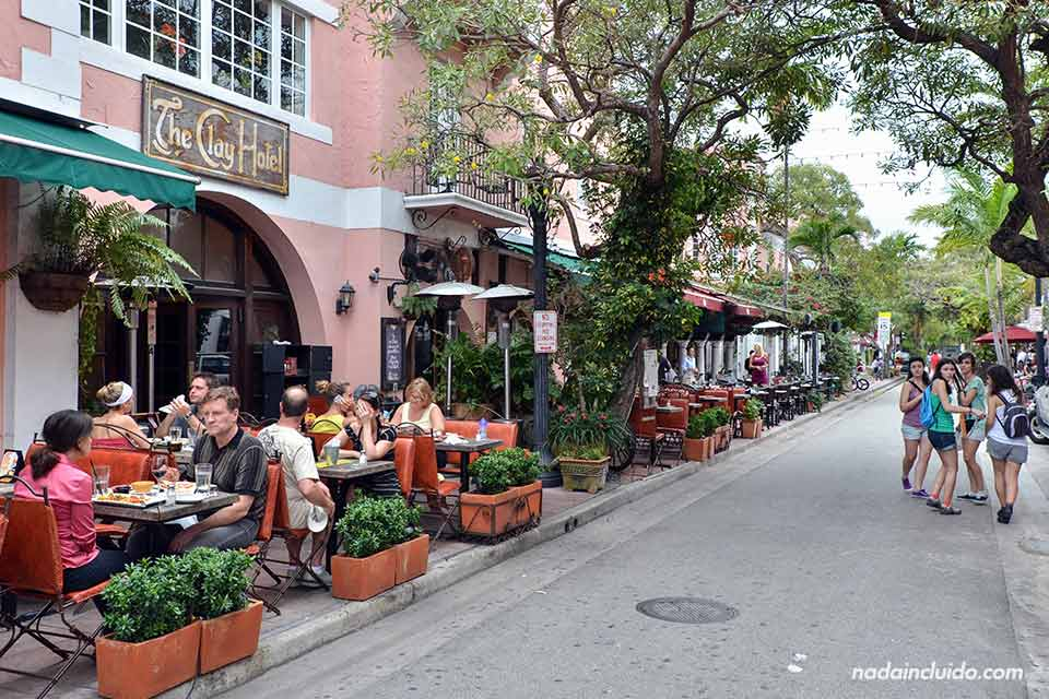 Calle-española en Miami