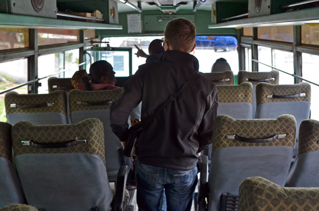 Autobús local en Cameron Highlands (Malasia)