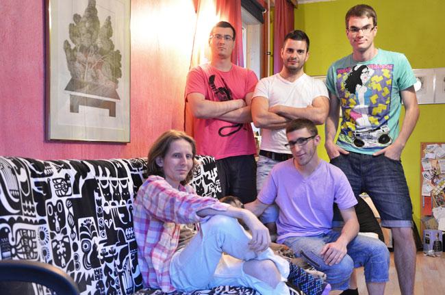 Gerd nos alojó en Tallin (Estonia) a través de Couchsurfing