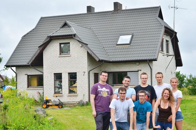 Casa Lukas, Couchsurfing en Klaipeda (Lituania)