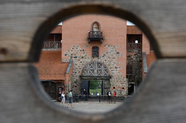 Detalle en el castillo de Trakai (Lituania)
