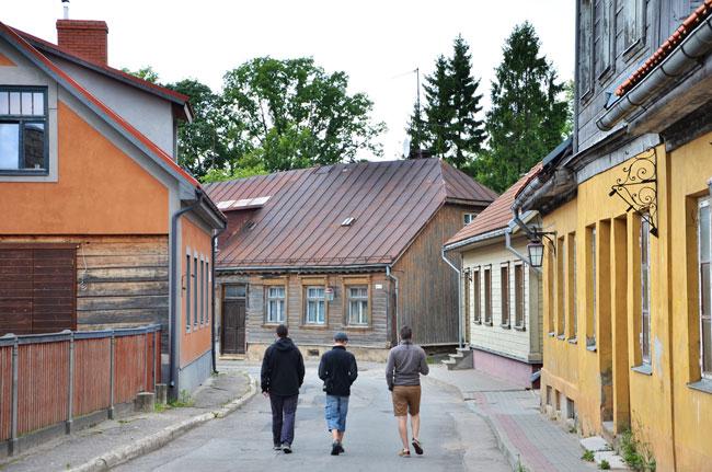 Paseando por Cesis (Letonia)